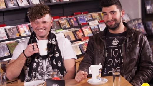 Nova ploča – Cafe, snimanje emisije s Bosutskim bećarima