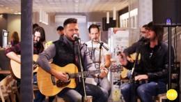 Nova ploča – Cafe, snimanje emisije s bendom Buđenje