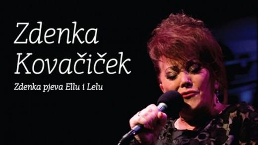 Zdenka Kovačiček pjeva Ellu i Lelu live in Lisinski