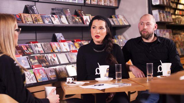 Nova ploča – Cafe, snimanje emisije s bendom Bang Bang