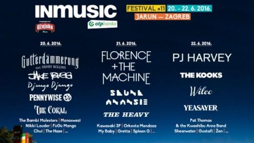 INmusic festival objavio satnicu i domaća pojačanja