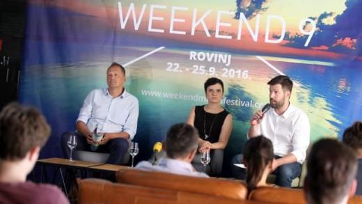 9. Weekend Media Festival u Rovinju od 22. do 25. rujna