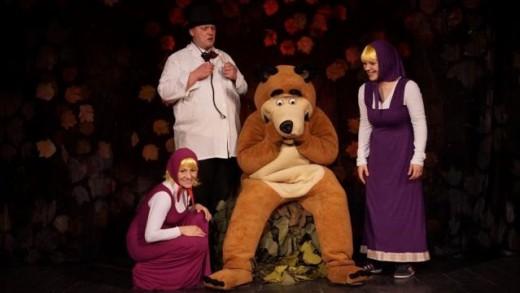 Hit predstava Maša i medvjed ponovno u Zagrebu