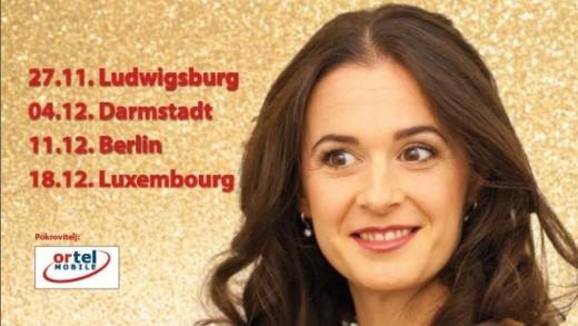Anđela na božićnoj mini turneji po Njemačkoj i Luksemburgu