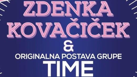 Originalna postava grupe TIME i Zdenka Kovačiček u Novom Sadu i Beogradu