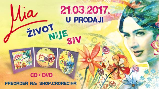 Album Mije Dimšić 'Život nije siv' najprodavaniji domaći album