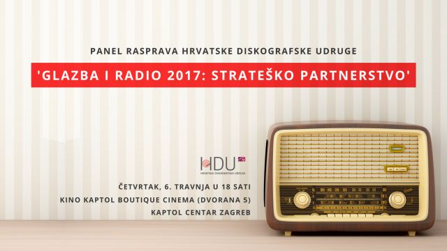 Panel 'Glazba i radio 2017 – Strateško partnerstvo'