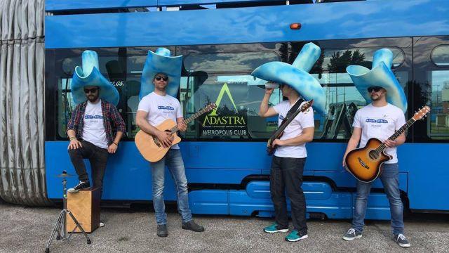Nova pjesma i spot grupe Adastra 'Tramvaj plavi'