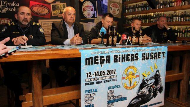 14. Mega bikers susret u Slavonskom Brodu