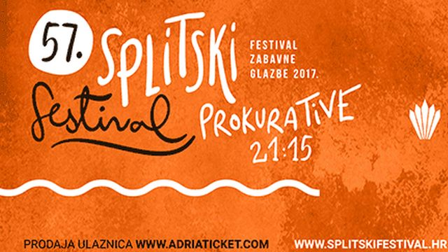 Odabrane 24 pjesme za  57. izdanje Splitskog festivala
