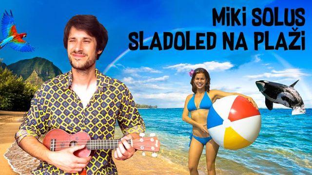 Miki Solus u hawai pop šlageru 'Sladoled na plaži'