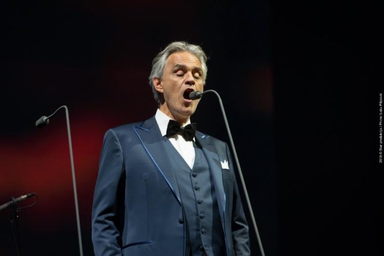 Andrea Bocelli oduševio zagrebačku publiku
