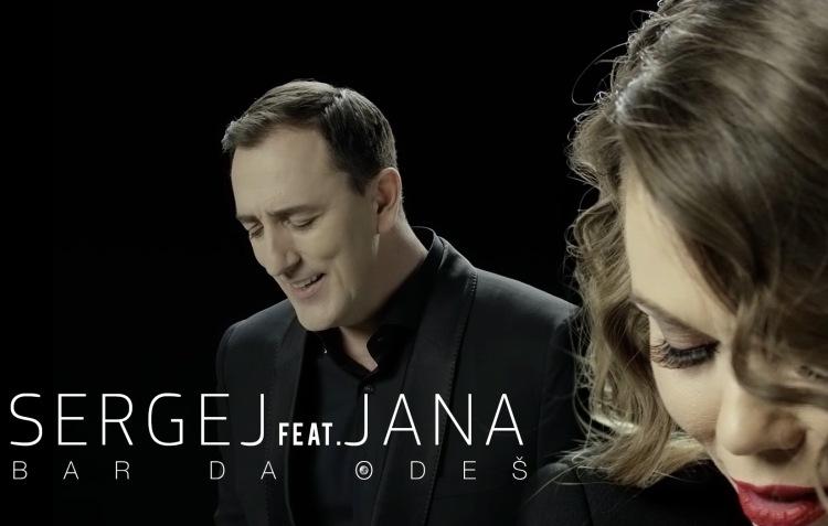 Sergej Ćetković u emotivnom duetu sa slovenskom zvijezdom Janom