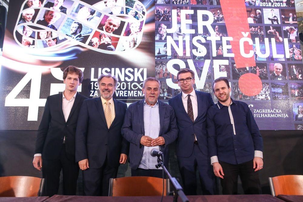 Koncertna dvorana Vatroslava Lisinskog i Zagrebačka filharmonija predstavile nove koncertne sezone