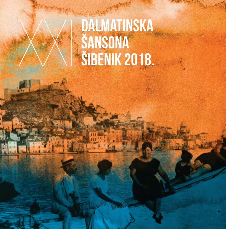 """25 novih  hit singlova na albumu """"XXI. Dalmatinska šansona Šibenik 2018."""""""