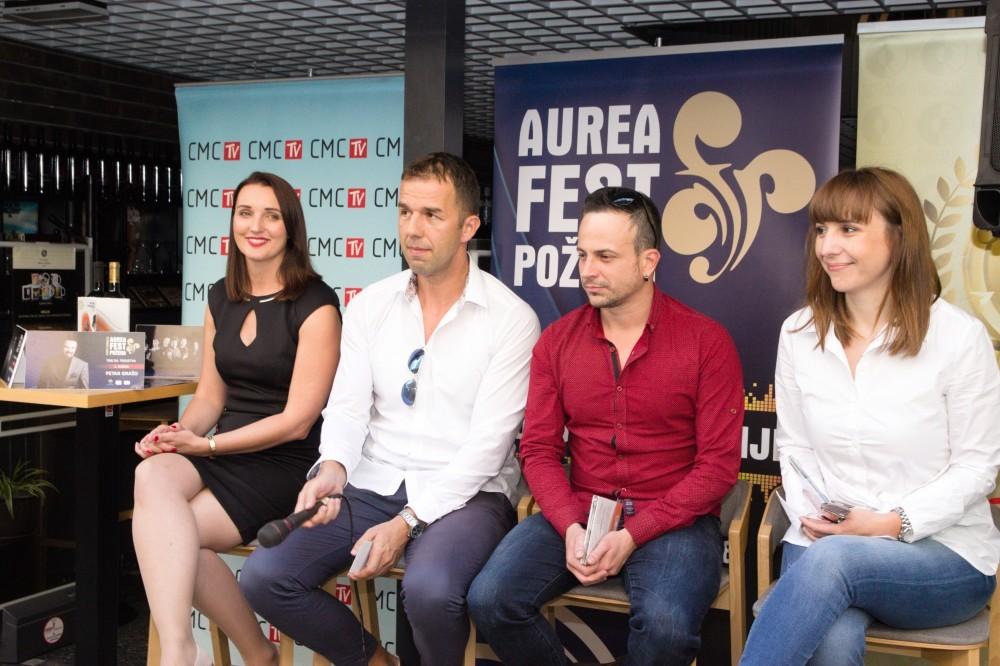 U Zagrebu predstavljen program ovogodišnjeg požeškog Aurea festa