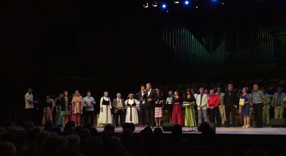 Slavljenički spektakl Hrašćanskih čestitara u Lisinskom