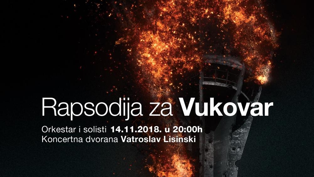 Rapsodija za Vukovar u Lisinskom