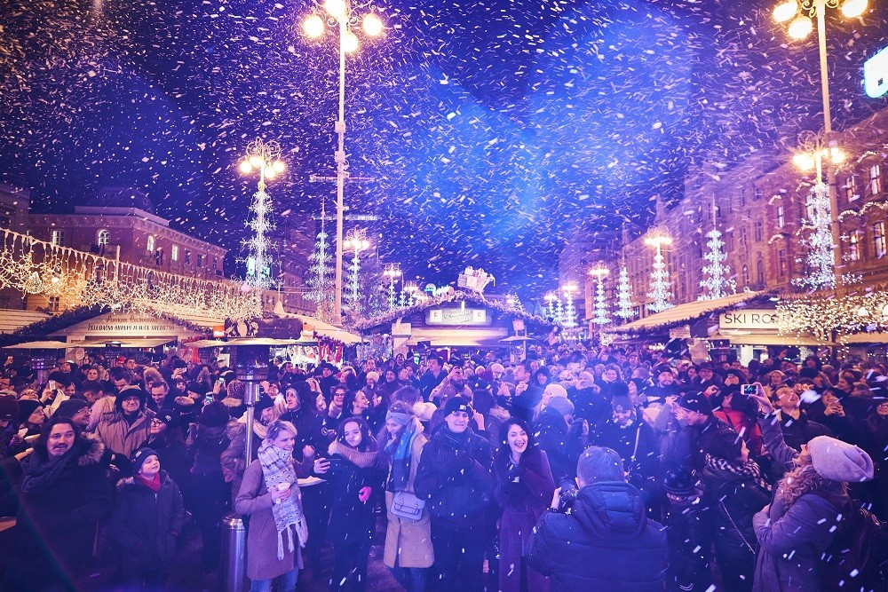 Najljepša čarolija Božića u samom centru grada!