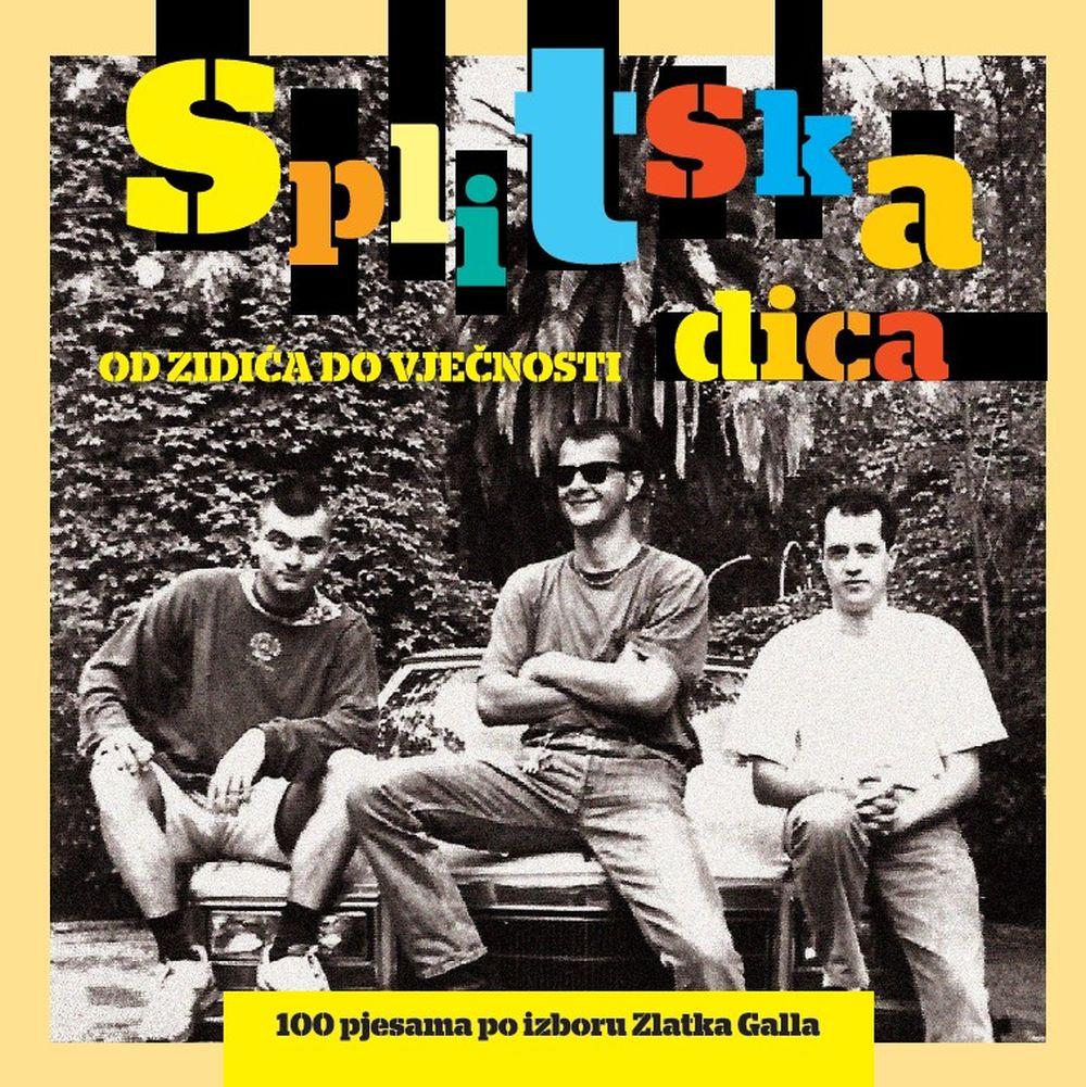 """U prodaji  Box set  """"Splitska dica – od zidića do vječnosti"""" 100 pjesama po izboru Zlatka Galla"""