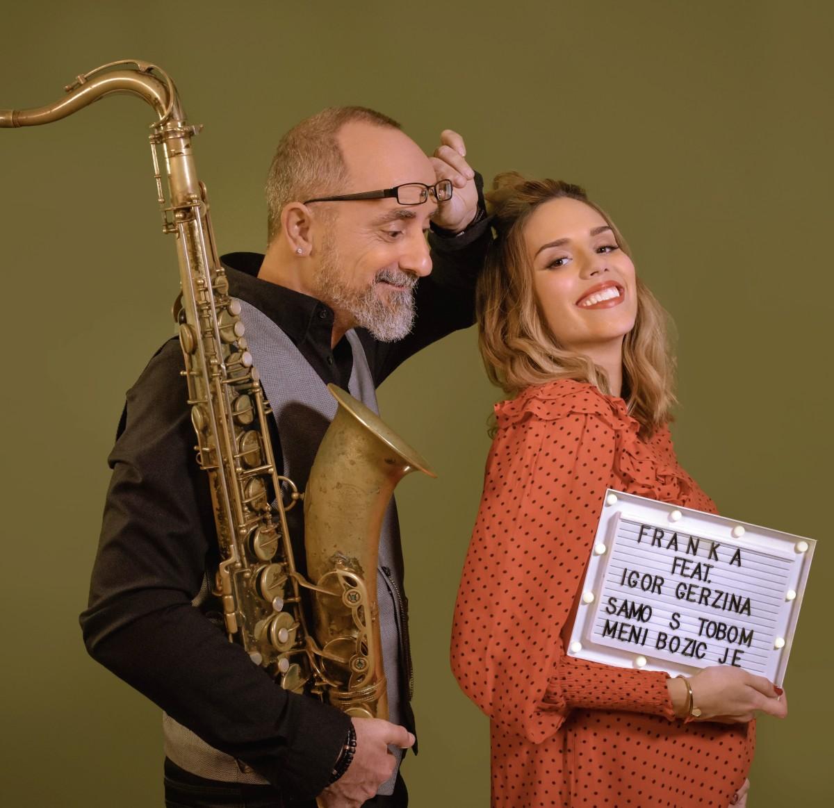 Frankina božićna bajka u suradnji sa saksofonistom Igorom Geržinom