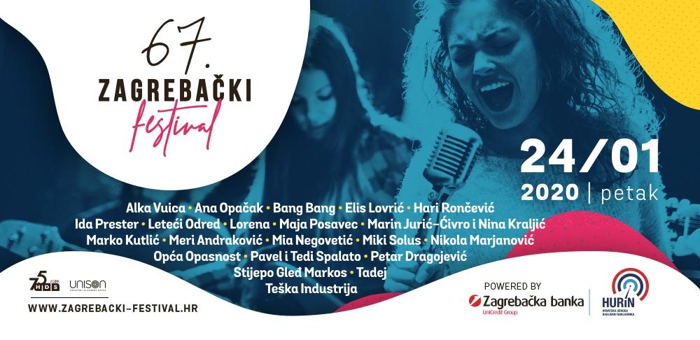 Približava se 67. Zagrebački festival