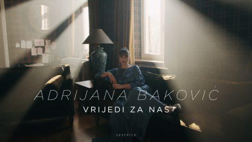 """Novi singl Adrijane Baković """"Vrijedi za nas"""" pjesma je koja vrijedi!"""