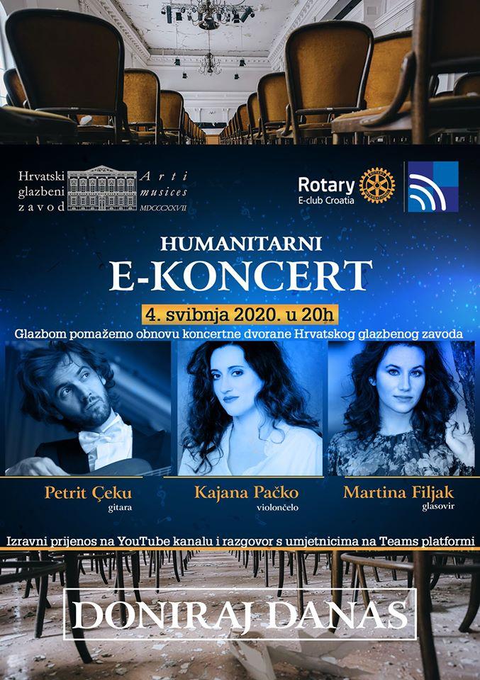 Najavljen dobrotvorni E-koncert za Hrvatski glazbeni zavod