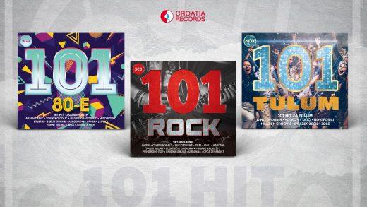 Croatia Records pokrenula potpuno novu ediciju – 101 hit