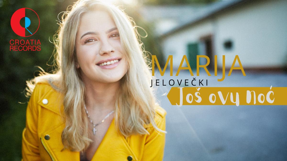 Nova nada hrvatske glazbene scene Marija Jelovečki predstavlja prvi singl Još ovu noć