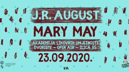 J.R. August & Mary May otvaraju niz koncerata u dvorištu Akademije likovnih umjetnosti