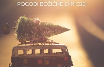 CMC KVIZ – pogodi božićne lyricse!