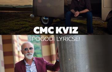 CMC kviz – Pogodi lyricse! Sergej Ćetković ili Dino Merlin?