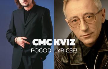 CMC kviz – Pogodi lyricse! Gibonni ili Oliver?