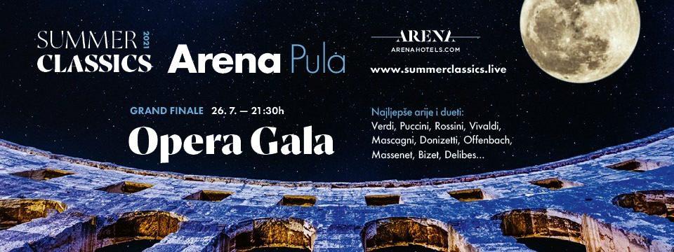 Opera Gala – najljepše arije i dueti u Areni Pula