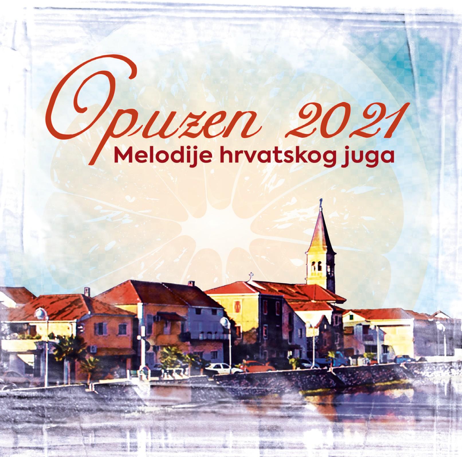 """Pjesme ovogodišnjeg festivala """"Melodije hrvatskog juga, Opuzen 2021"""" objavljene na dvostrukom CD-u"""