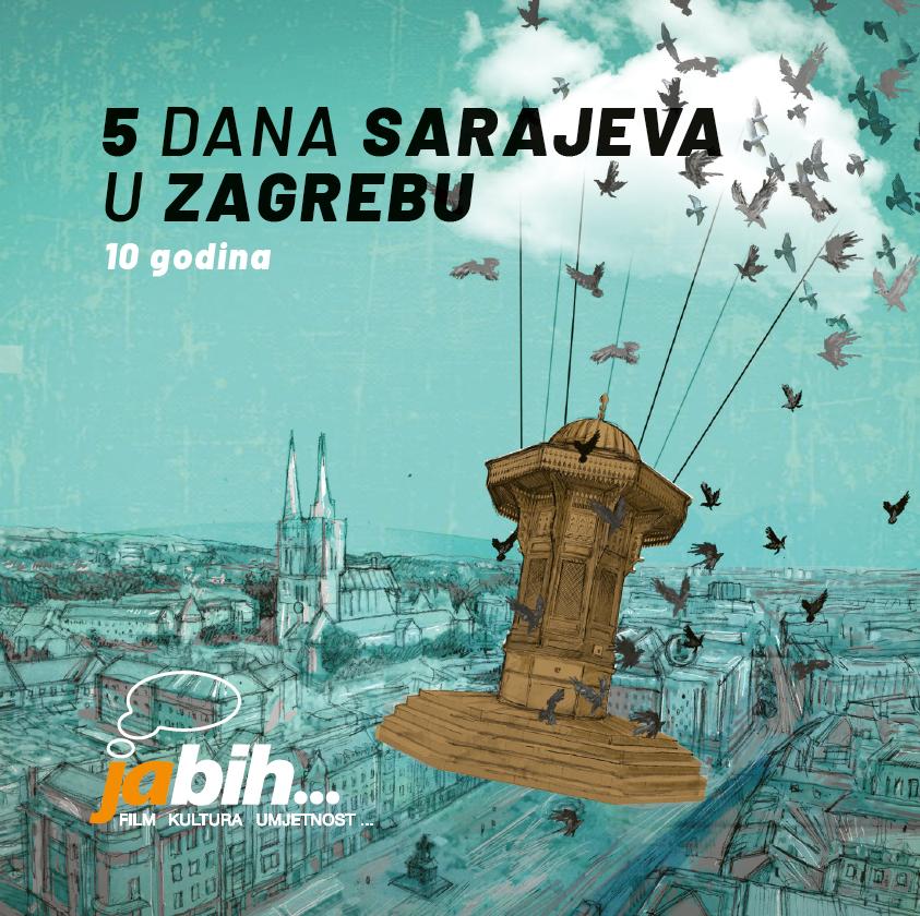 """Svečanim otvorenjem započeo festival """"Ja BIH… Pet dana Sarajeva u Zagrebu"""""""