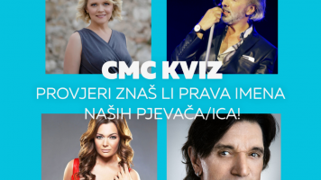 CMC kviz – Znaš li prava imena naših pjevača/ica?