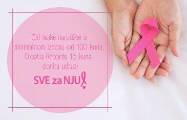 SVE za NJU i Croatia Records uz sve hrabre žene koje se bore s malignim bolestima